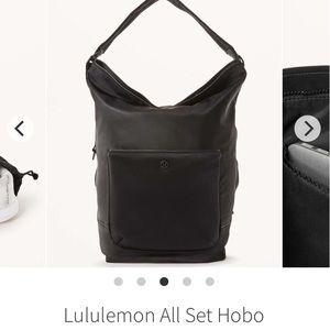 🍋 Lululemon All Set hobo